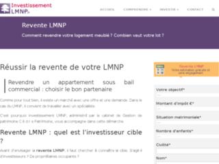 Blog sur la revente d'un LMNP