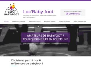 Loc'Baby-foot.fr