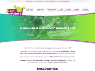 Loc Gonflable - Le spécialiste de location de structures gonflables ludiques à Lyon