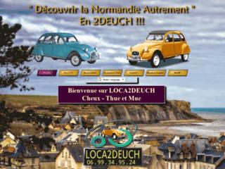 LOCA2DEUCH LOCATION DE 2CV CITROEN CHEUX CALVADOS