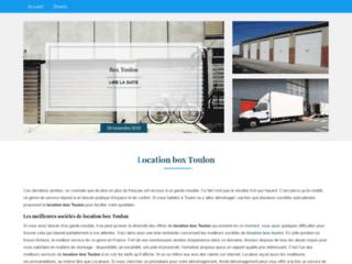 Site d'informations sur les sociétés de location de box à Toulon