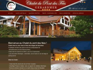 Détails : Chalet du pont des fées, location de Chalet de Luxe