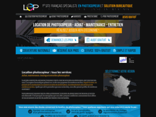 Location photocopieur professionnel