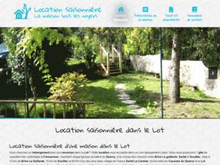 Location de gîte dans le Lot ou louer un gîte dans le Lot (46)