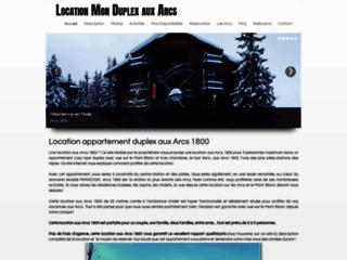 Détails : Location les Arcs 1800