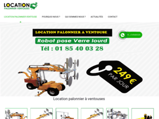 Location palonniers ventouse
