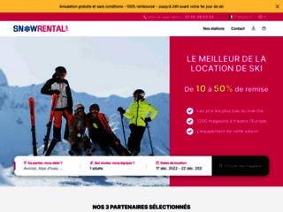 Détails : Location ski avec SnowRental