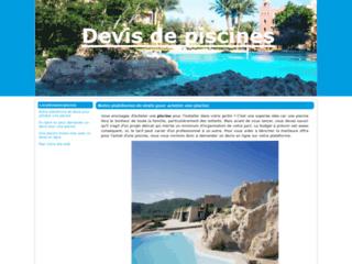 Détails : Obtenir des devis de piscine en ligne