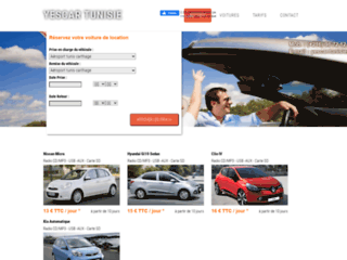 Détails : Location voiture tunisie