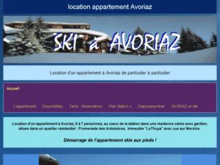 Location d'un appartement à Avoriaz