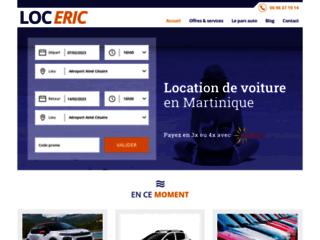 Loueur de voiture en Martinique - LOC ERIC