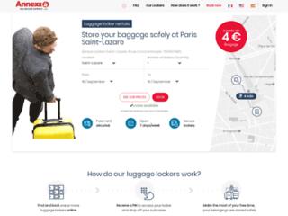 Détails : Des consignes de stockage pour garder vos bagages en sécurité