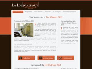 Détails : Défiscalisation et investissement immobilier loi Malraux