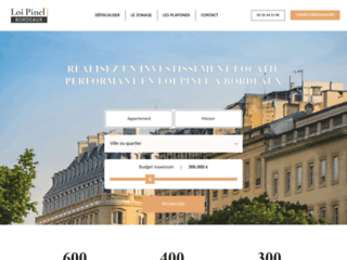 Profiter des avantages de la loi pinel à Bordeaux