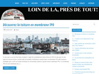 Détails : site de promotion sur internet