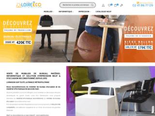 Détails : Loire Eco Distribution, mobilier de bureau et système informatique neuf et d'occasion reconditionné