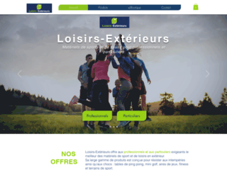 Détails : Loisirs Exterieurs, vente équipements sport et loisirs