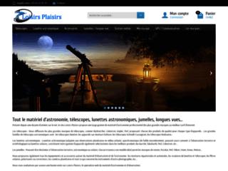 Loisirs Plaisirs, boutique de matériels d'astronomie
