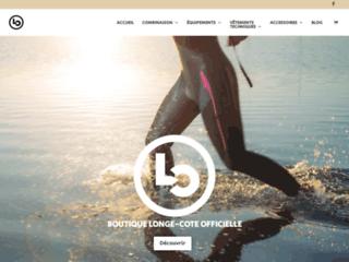 Le site dédié au longe-côte