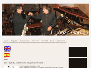 Lorenzo Garriga pianiste de jazz faisant le tour du monde