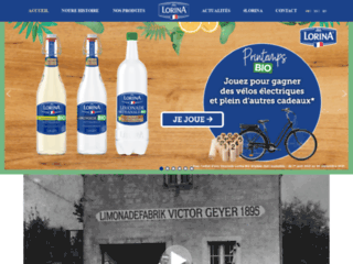 Sodas Lorina fabricant de limonade artisanale depuis 1895