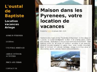 Détails : L'oustal de Baptiste, votre location de vacances en Ariege Pyrenees
