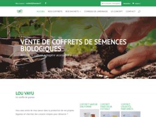 Vente de semences et graines biologiques - Lou Vayu