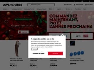 Détails : Love & Vibes - Sex toys et lingerie sexy