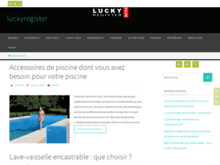 Lucky register le rgiste du web