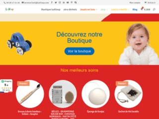 Connaissez vous Ludiloup ? la boutique en ligne de jeux et jouets pour enfants