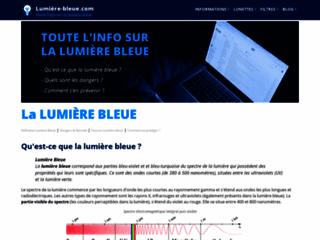 Lumiere bleue danger