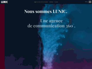 Détails : LUNIC SA - Agence de communication - Suisse - Genève