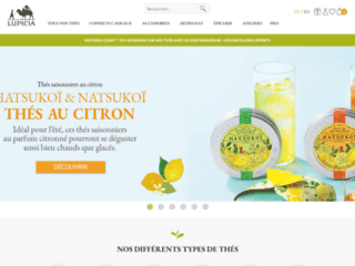 Détails : Lupicia - Vente de thé en ligne