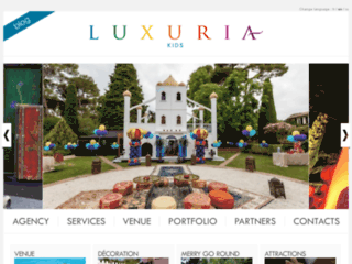 Détails : Luxuria Kids, organisation d'évènements pour enfants