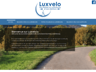 Piste cyclable luxembourg, cyclisme luxembourg : Luxvelo
