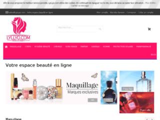 Détails : La boutique en ligne des produits de beauté