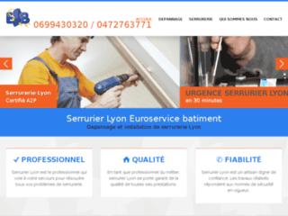 Euroservice serrurerie Lyon, une équipe de professionnels à votre service.