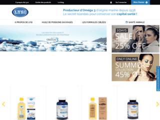 Détails : Lysi, le spécialiste du complément alimentaire Oméga 3