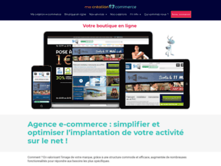 Détails : Création e-commerce - Fourmiko