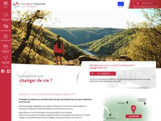 Ma Vie En Xaintrie : Construire sa vie au vert au carrefour de la Corrèze, du Cantal et du Lot