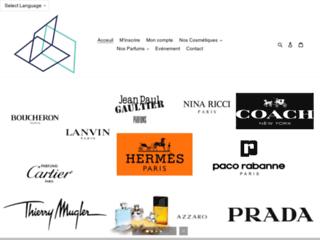 Détails : boutique cosmétique de marque à petit prix
