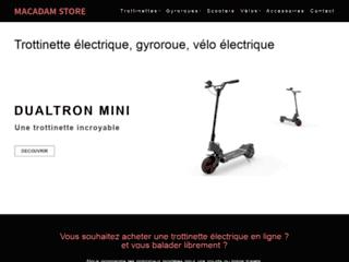 Trottinette électrique et vélo électrique en ligne