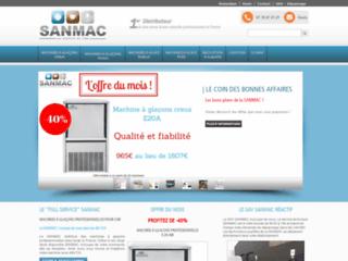Détails : Sanmac, importateur de machines a glaçons professionnelles