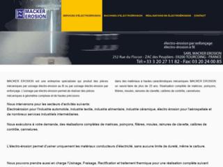 Détails : Macker Erosion : spécialiste de l'usinage par électro-érosion au Nord (59)