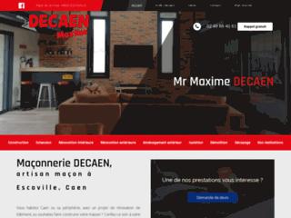Maçonnerie DECAEN : artisan maçon à Escoville, Caen