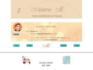 Détails : Madame M