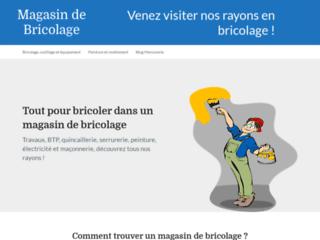 Magasin de bricolage : blog sur les matériels BTP et le second œuvre