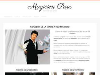 Magicien professionnel à Paris pour événements