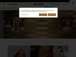 Montres et bijoux de luxe chez Maier