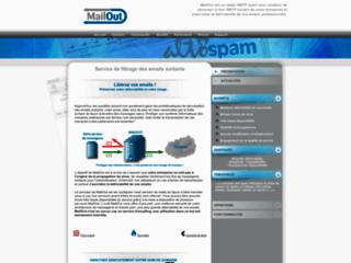 Logiciel antivirus pour entreprise MailOut